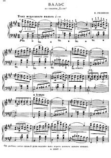 Der Cristbaum, Op.21: Walzer by Wladimir Rebikow