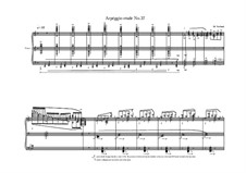 Etude No.37 for piano, MVWV 551: Etude No.37 for piano by Maurice Verheul