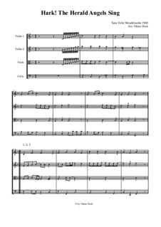 Instrumental version: Für Streichquartett by Felix Mendelssohn-Bartholdy