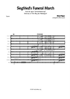 Siegfried, WWV 86c: Funeral March by Richard Wagner