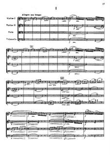 Streichquartett in G-Dur: Vollpartitur by Nikolai Rimsky-Korsakov