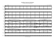 God Rest You Merry, Gentlemen: For sax ensemble by folklore