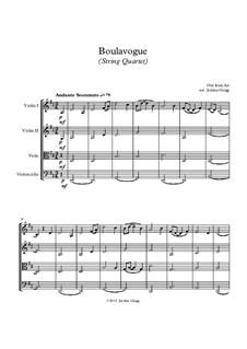 Boulavogue: Für Streichquartett by Patrick Joseph McCall