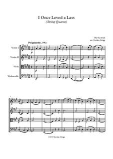 I Once Loved a Lass: Für Streichquartett by folklore