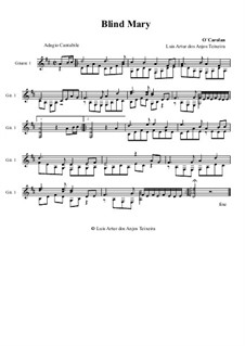 Blind Mary: Für Gitarre by Turlough O'Carolan