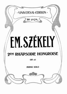 Deuxième Rhapsodie Hongroise, Op.43: Deuxième Rhapsodie Hongroise by Anton Strelezki