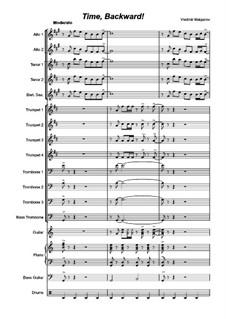 Time, backward!: For big band by Vladimir Malganov