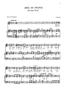 Ezio, HWV 29: Caro padre a me non dei by Georg Friedrich Händel