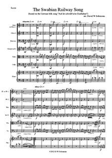 Eisenbahngesang: For mixed ensemble by folklore, David W Solomons