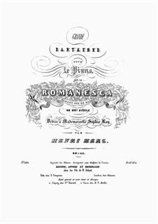 Grande Fantaisie sur la Romanesca, Op.111: Grande Fantaisie sur la Romanesca by Henri Herz