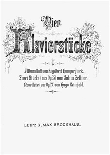 Albumblatt: Für Klavier by Engelbert Humperdinck