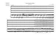 5 songs for mixed choir and piano: Nr.1, MVWV 340 by Maurice Verheul