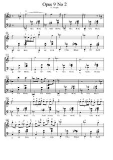 Nr.2 in Es-Dur: Für Klavier by Frédéric Chopin
