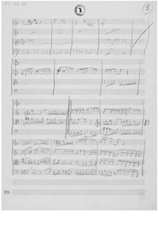 Streichquartett Nr.5: Skizzen by Ernst Levy