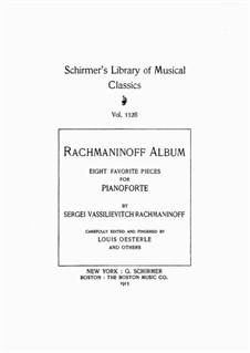 Sept Morceaux de Salon, Op.10: No.3 Barcarolle by Sergei Rachmaninoff