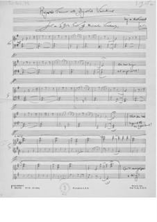 Verworfenes Thema mit abgewiesenen Variationen: Verworfenes Thema mit abgewiesenen Variationen by Ernst Levy