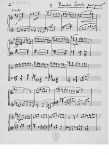 Klaviersonate Nr.1: Für einen Interpreten by Ernst Levy
