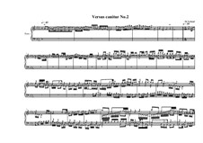 Versus canitur for piano solo 'a Glenn Gould study': Nr.2, MVWV 737 by Maurice Verheul