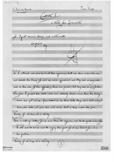 Kantate Nr.1 'Und ich wandte mich' über Texte der Ekklesiasten: Kantate Nr.1 'Und ich wandte mich' über Texte der Ekklesiasten by Ernst Levy