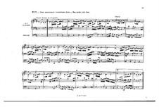 Choralvorspiele III (Leipziger Choräle): Choräle Nr.7-18, BWV 657-668 by Johann Sebastian Bach