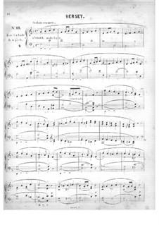 Fünfzig Stücke für Orgel, Op.24: Nr.11-15 by Edouard Batiste