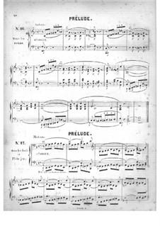 Fünfzig Stücke für Orgel, Op.24: Nr.16-18 by Edouard Batiste