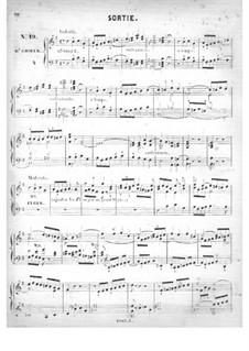 Fünfzig Stücke für Orgel, Op.24: No.19 Sortie in E Minor by Edouard Batiste