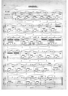 Fünfzig Stücke für Orgel, Op.24: Nr.21-22 by Edouard Batiste