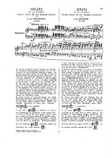 Sonate für Klavier Nr.29, Op.106: Für einen Interpreten (Herausgegeben von H. Bülow) by Ludwig van Beethoven