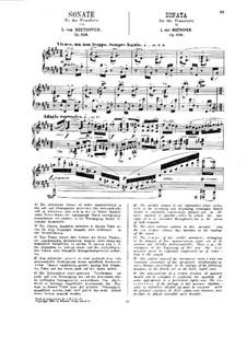 Sonate für Klavier Nr.30, Op.109: Für einen Interpreten (Herausgegeben von H. Bülow) by Ludwig van Beethoven