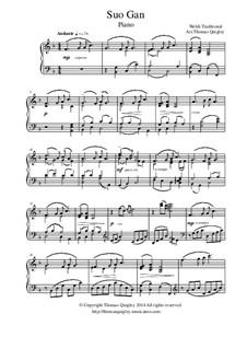 Suo Gan: Für Klavier by folklore