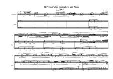12 Prelude's for Contraforte and Piano: Prelude No.5, MVWV 746 by Maurice Verheul