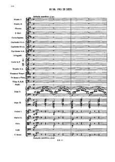 Nr.14 Pas de deux: Partitur by Pjotr Tschaikowski