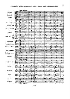 Nr.15 Finale Walzer und Apotheose: Partitur by Pjotr Tschaikowski
