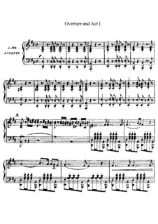 Aroldo: Ouvertüre und Akt I. Bearbeitung für Stimmen und Klavier by Giuseppe Verdi