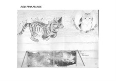 Cat Walk (in memory of Leo the cat): Version for two pianos by Sonja Grossner