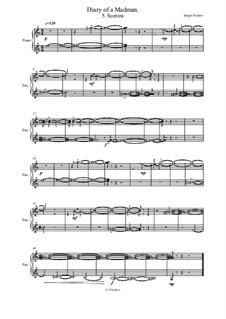 Diary of a Madman Piano Suite: No.5 Sorrow by Sergei Noskov