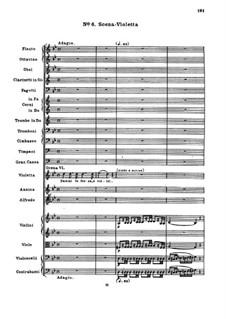 Fragmente: Akt II Nr.6 Szene mit Violetta by Giuseppe Verdi