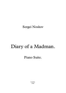 Diary of a Madman Piano Suite: Vollsammlung by Sergei Noskov