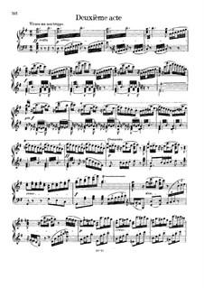 Fragmente: Akt II, für Solisten, Chor und Klavier by Richard Wagner