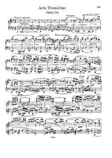 Fragmente: Akt III, für Solisten, Chor und Klavier by Richard Wagner