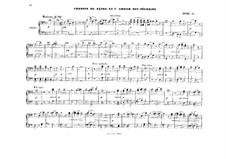 Akt I. Lied des Schäfers und Chor von Piligrim: Bearbeitung für Klavier, vierhändig by Richard Wagner