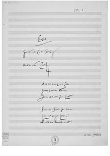 Alles hat einmal ein Ende. Chorlied für gemischten Chor a cappella: Alles hat einmal ein Ende. Chorlied für gemischten Chor a cappella by Ernst Levy