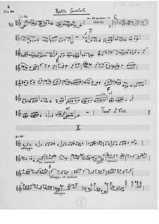 Partita concertante für Violine und Orchester: Stimmen by Ernst Levy