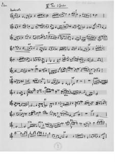 Trio Nr.3 für Violine, Bratsche und Cello: Violinstimme by Ernst Levy