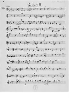Trio Nr.4 für Violine, Bratsche und Cello: Stimmen by Ernst Levy