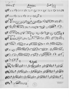 Aubade für Flöte, Bratsche und Cello: Stimmen by Ernst Levy