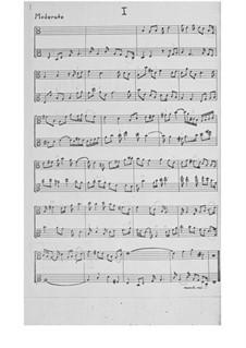 Drei 'profunde' Inventionen für Stimme und Cello: Für zwei Bratschen by Ernst Levy