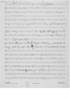 Suite für zwei Bratschen: Skizzen by Ernst Levy