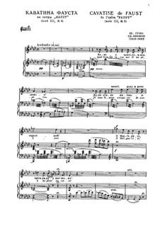Faust: Quel trouble inconu! Il me penetre by Charles Gounod